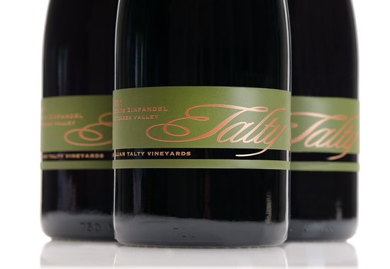 Healdsburg, CA: The Talty label.