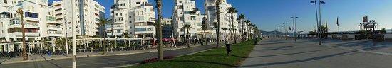 Martil, Marokko: Tamuda bay Mediterranean sea coast