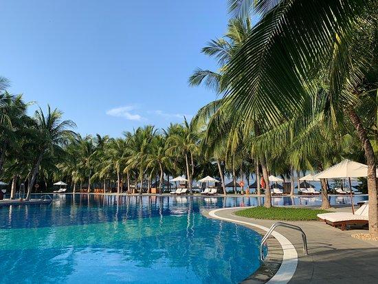 Vinpearl Luxury Nha Trang: 素晴らしいホテルです。 海上コテージのスパは最高!