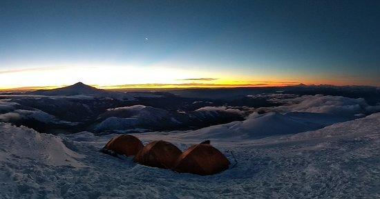 Curso de montaña 2019 Volcán Quetrupillan 😎👍