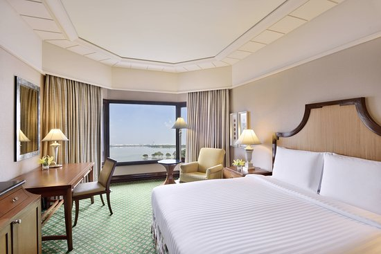 Hyderabad Marriott Hotel & Convention Centre: Guest room