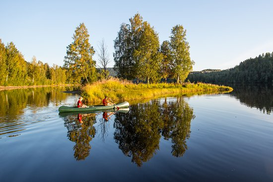 The High Coast, Svezia: Hire a canoe and take yourself out on the river Ångermanälven. Great views, complete silence, and you might even spot a beaver!