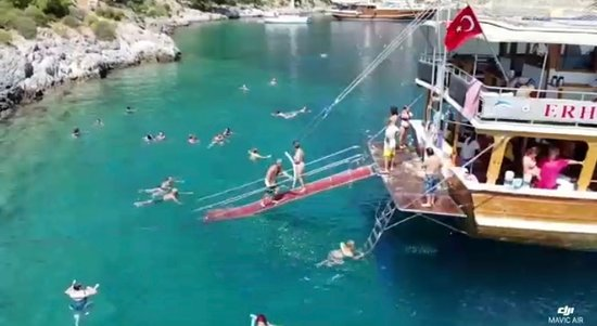 Da'erhan Maoming'an Lianhe Qi, จีน: 12 Adalar Aile Tekne Turu