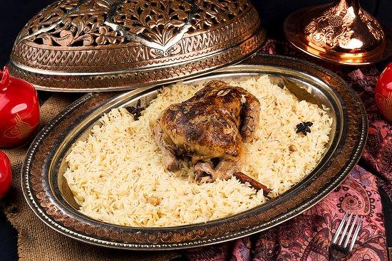 Warung Turki Shisha Lounge: SAFRON RICE WITH GRILLED CHICKEN