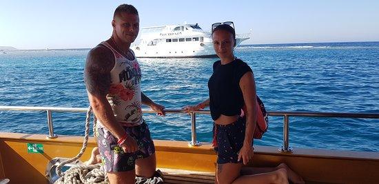 Concorde Moreen Beach Resort & Spa: Výlet faraónskou loďou