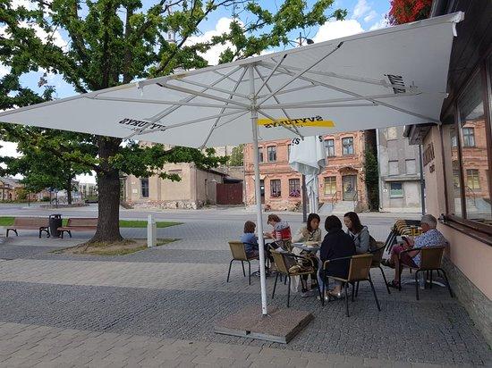 Joniskis, ليتوانيا: Fortuna Cafe