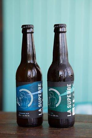 Bières locales LA SUPERBE