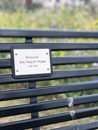 Eazy-E Memorial Bench