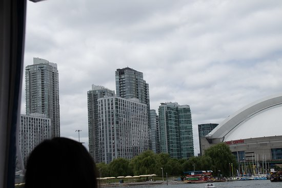 1-Hour Toronto Harbour Tour with Live Narration: Tall buildings in Downtown Toronto