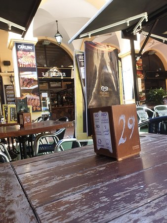 Benidorm Old Town : Bar in the wonderful Old Town