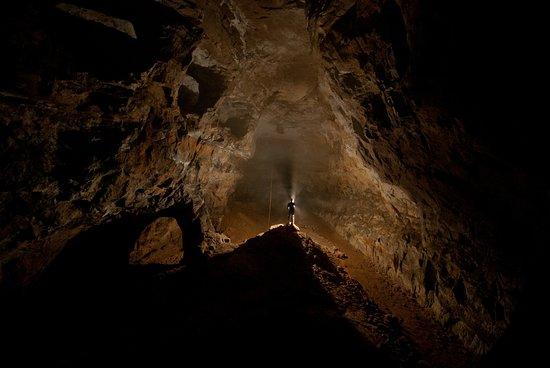 Alderley Edge, UK: Main Chamber - West Mine. Copywright Ed Coghlan (2019)