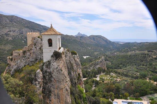 El Castell de Guadalest: clocher