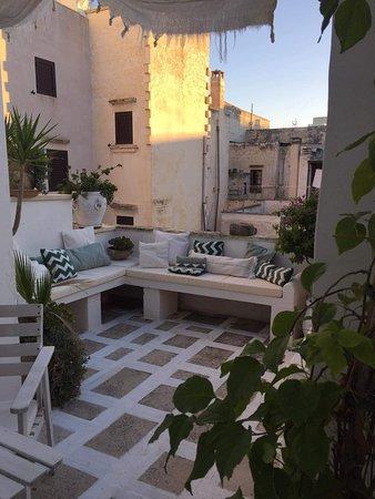 Corte Moline: Camera con terrazza.