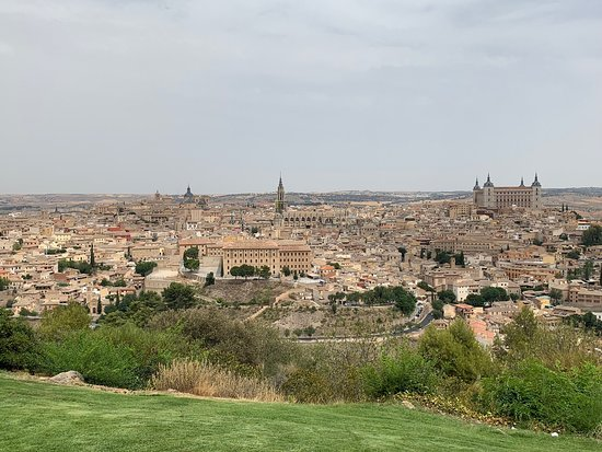 Stunning views from the Parador terraces!!!