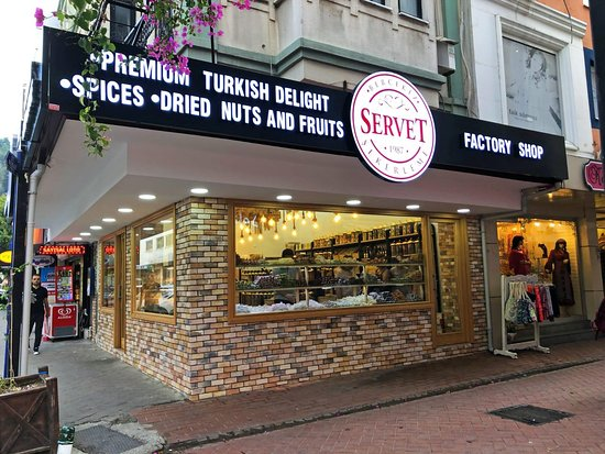 Servet Turkish Delight Factory Shop