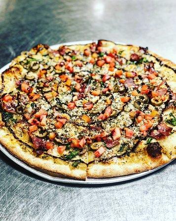 Mediterean pizza