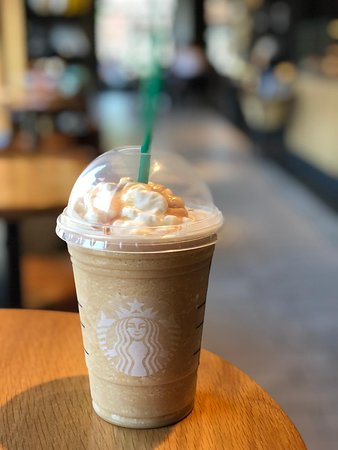 Never Again Will I Order The Caramel Frappuccino Blended Coffee From Here It Tasted Like Straight Sugar Topped With Caramel Syrup And No Coffee Picture Of Starbucks Royal Oak Tripadvisor