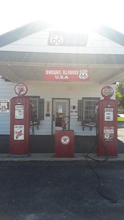 Dwight, אילינוי: Ambler's Texaco, Route 66, Dwight, IL