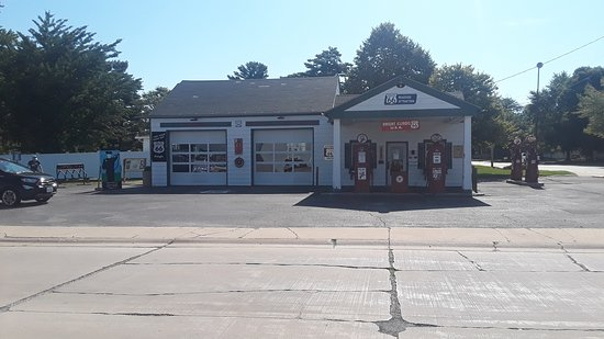 Dwight, אילינוי: Ambler's Texaco Station, Route 66, Dwight, IL