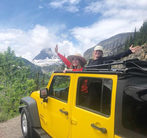 Columbia Falls, MT: We love our awesome customers! Thank You!   Glacier Nat Park is AMAZING!