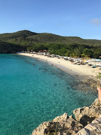 On the west side we have most of the natural beaches and Playa Kenepa is one of the nicest beaches in Curacao.