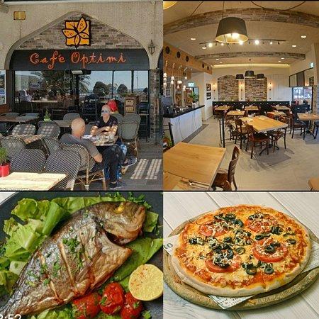 Cafe Optimi eilat- italian&israeli kitchen