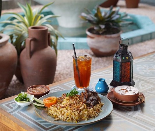 Abunawas Restaurant Bali: The savory Zurbiyan rice end up with the sweet Umm Ali, could be one of the perfect decision for your lunch.