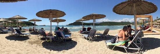 Panoramica spiaggia Ammoudia