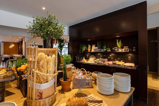 Cepia Restaurant Terrasse: Petit déjeuner buffet
