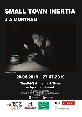 Small Town Inertia (english) by J A Mortram - poster