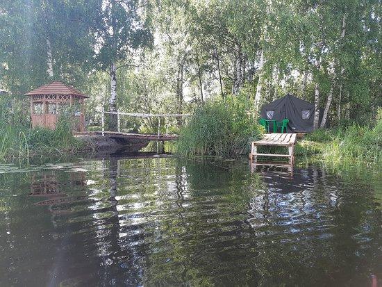 Kostroma Oblast, Venäjä: И вот так)) Рыбацкий глэмпинг)))
