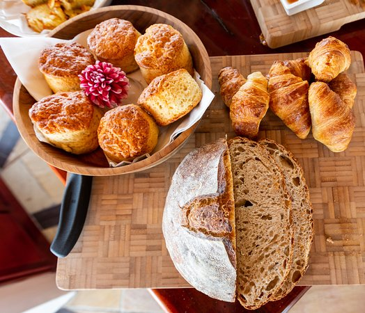 The Sands at St Francis: Our chefs bake fresh bread every morning breakfast.