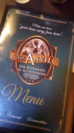 Boolteens, Ierland: menu