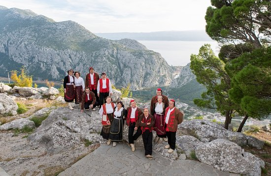 Central Dalmatia, Kroatië: Folklore tradition, customs and clothes, is part of the cultural heritage that we are very proud of!