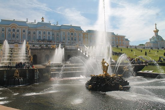 City drive tour & Hermitage - Private Visa-Free Shore Excursion: Peterhof Palace fountain
