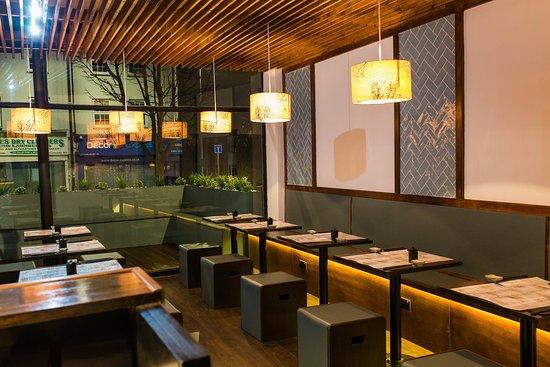 Yano Sushi: Modern touch artistically design by Carolina Sandri