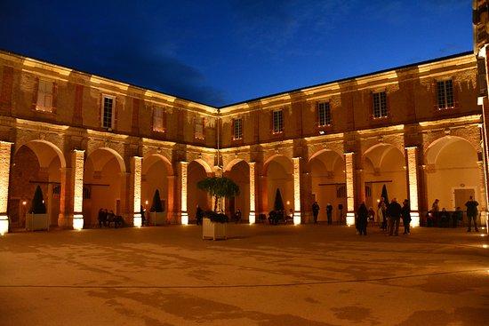 Saint Sever, Francia: Le cloître vu de nuit