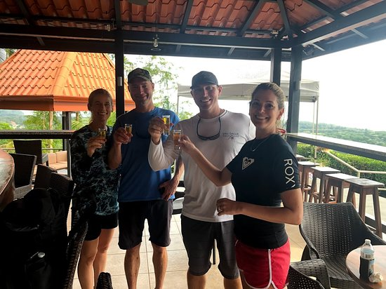 Waterfalls Heaven Costa Rica: Cheers!