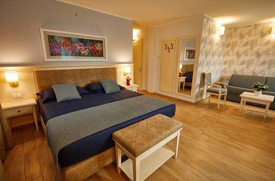 Una spaziosa Camera Superior, dotata di area salotto con un'ampia poltrona o un comodo divano
