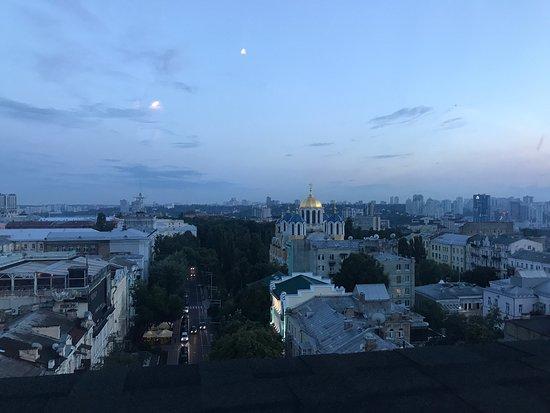 Wow factor for Kiev. Really good food.