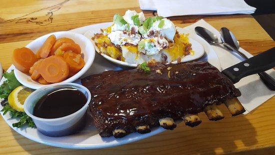 Descanso, קליפורניה: St. Louis Rib Dinner