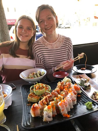 General Public: So good we went 3 times out of 4 nights. Great casual atmosphere and good sushi