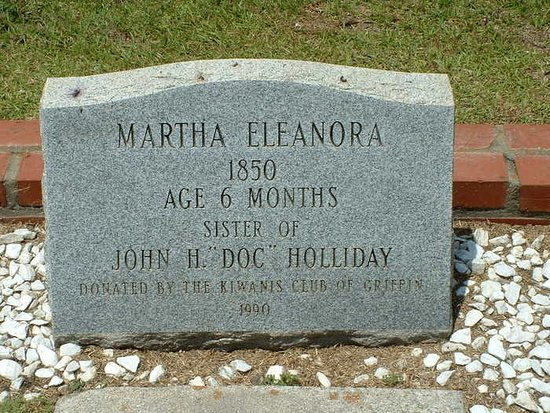 Martha Eleanora Holliday's grave