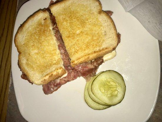 Redford, MI: Cornbeef sandwich