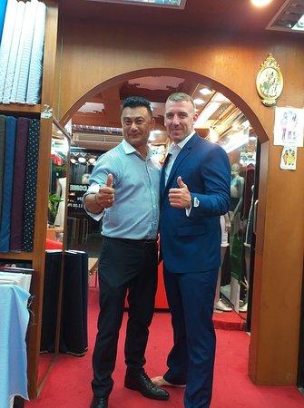 Vannoten Tailors: Happy customer