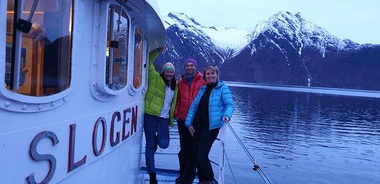 Saebo, นอร์เวย์: Fantastisk tur med MS Slogen fra Sæbø til Sykkylven