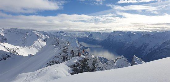Sykkylven, Norge: Fantastisk utsikt.