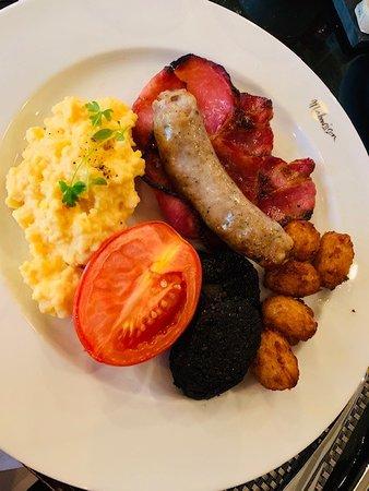 Amazing Breakfast at the Malmaison.