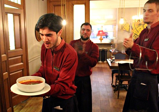 PETROV-VODKIN Russian Tapas Bar&Restaurant: сервис - на высоком уровне