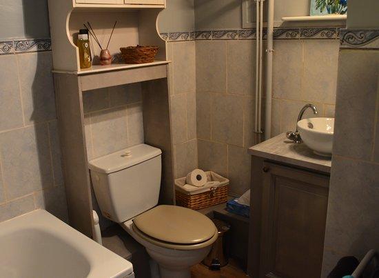 Le Pont-d'Ouche, فرنسا: Salle de bain